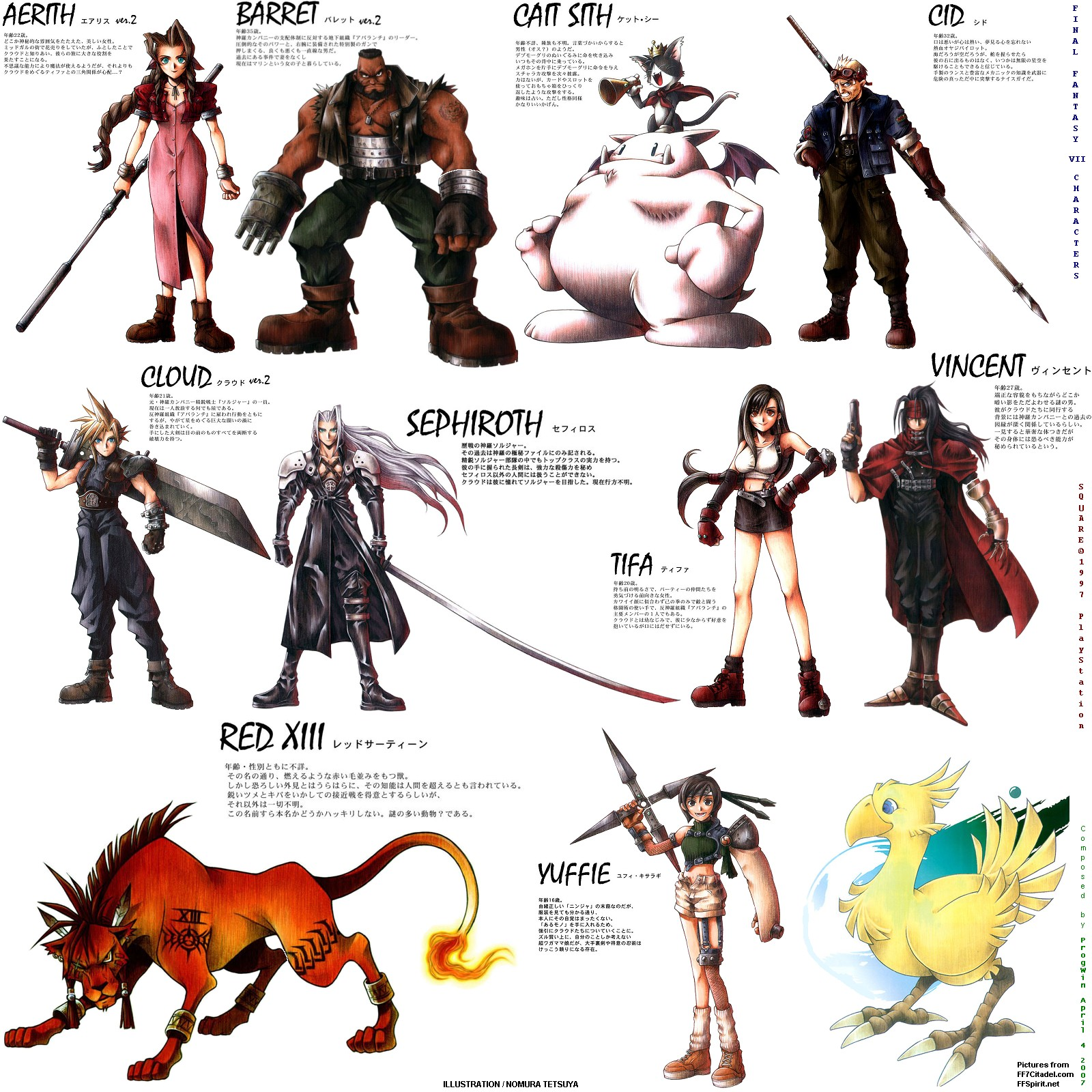 ff7 characters pictures to pin on pinterest pinsdaddy